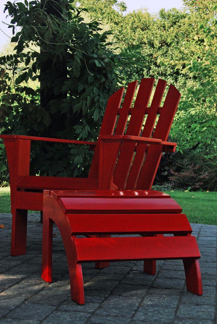 Adirondack in red