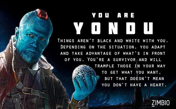 Which 'Guardians of the Galaxy' Character Are You?