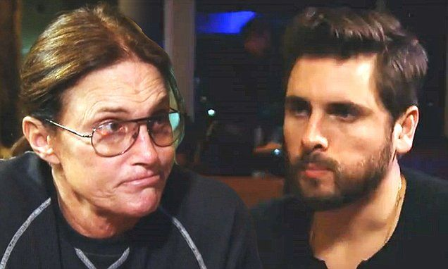 Bruce Jenner gives absentee-father Scott Disick parenting advice