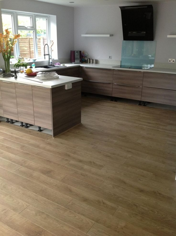 Customer photo from daniel s adams quickstep perspective for Quickstep kitchen flooring