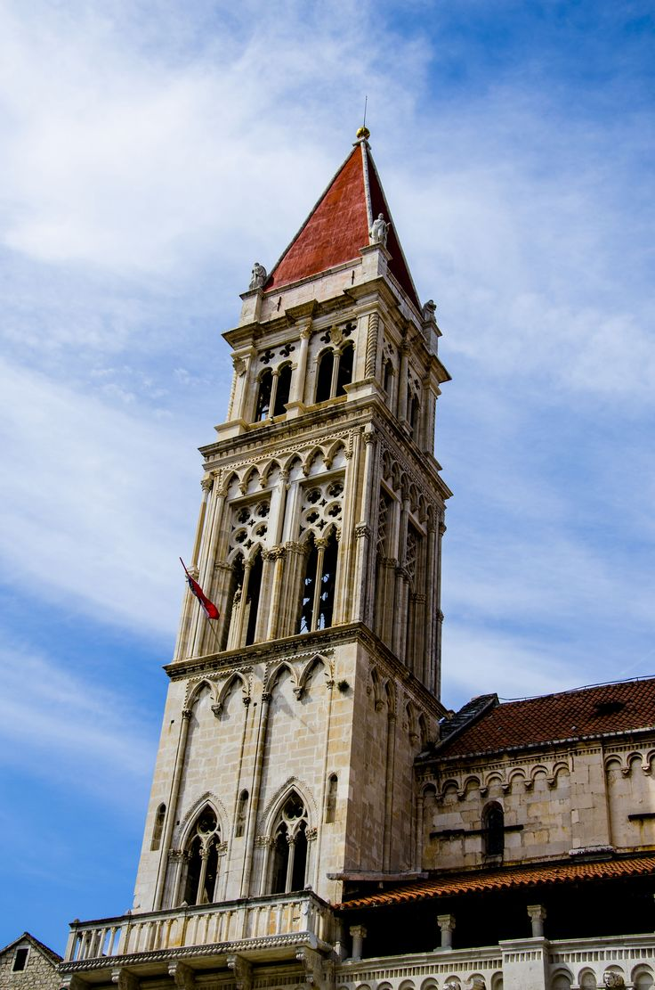 https://flic.kr/p/wMUDtj | Tower of the Cathedral of Saint Lawrence | Trogir, Croatia