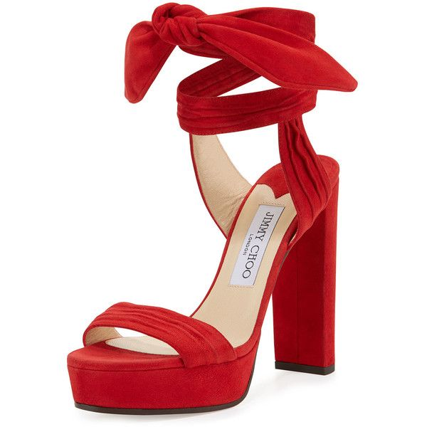 1000  images about Red Strappy Heels on Pinterest  Sandals