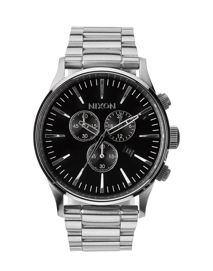 Hodinky Nixon Chrono black, 7490 Kč | Slevy hodinek