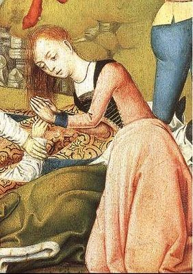 Master of the Legend of St Ursula - Scenes from the Life of St Ursula, det
