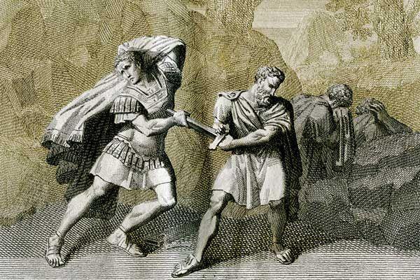 متآمر روماني نبيل مهد الطريق لاستعادة الجمهورية Today In History Battle Of Philippi The Conspirator