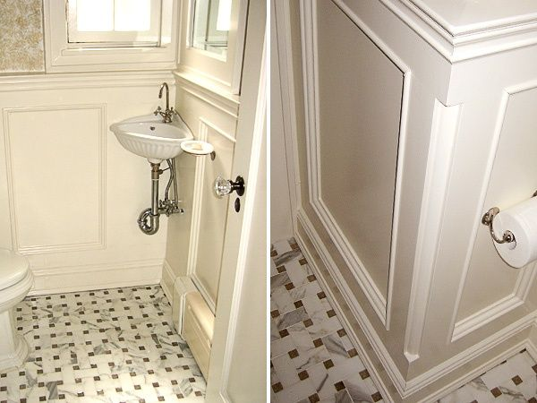 Corner sink small powder rooms and sinks for small - Small powder room sink ...