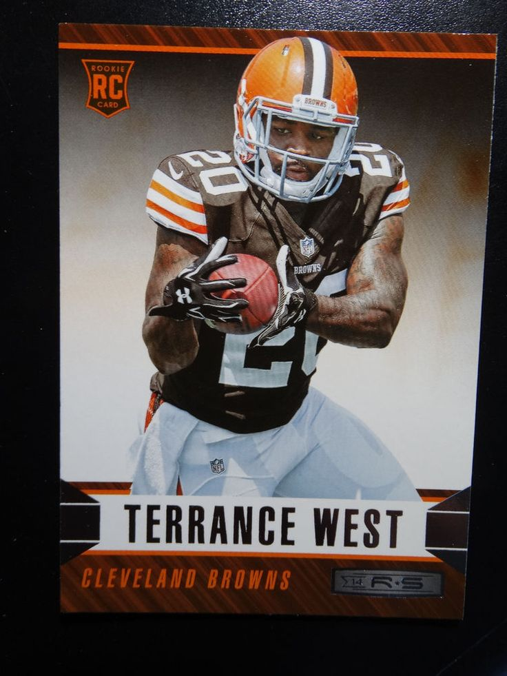2014 Panini Rookies and Stars #190 Terrance West Cleveland Browns Rookie Card #ClevelandBrowns