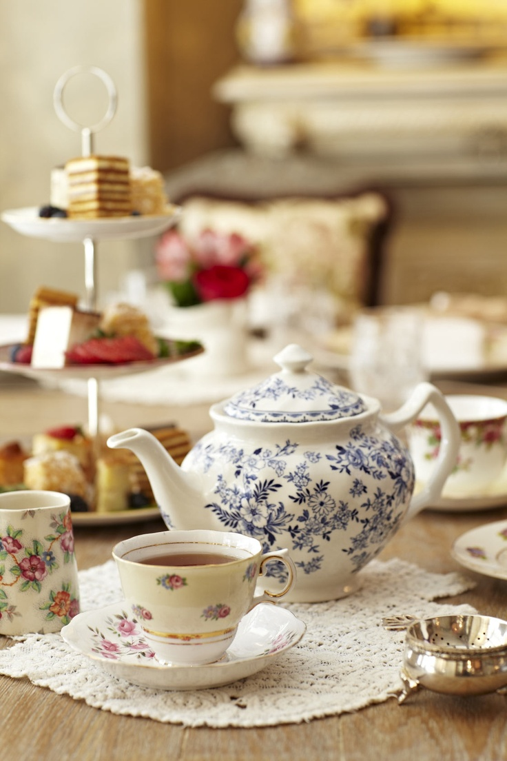 Afternoon Tea at Mari Vanna in London's Knightsbridge
