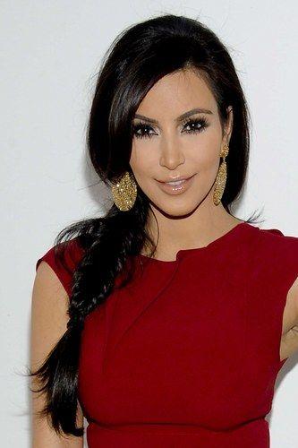 dress style kim kardashian 4 braids