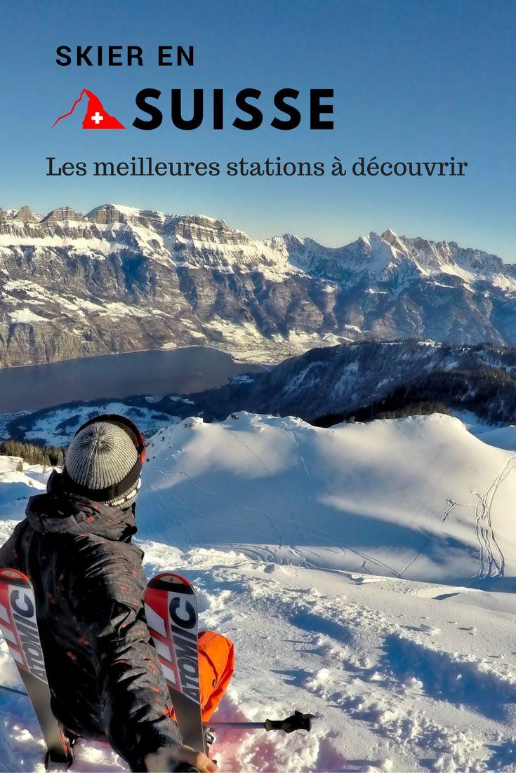Suisse - quelles sont les meilleures stations de ski? Benoit vous donne ses conseils avec des stations un peu moins connues mais tout aussi magnifique. #ski #suisse #flumserberg #portesdusoleil #davos #flims #skier #station #hiver