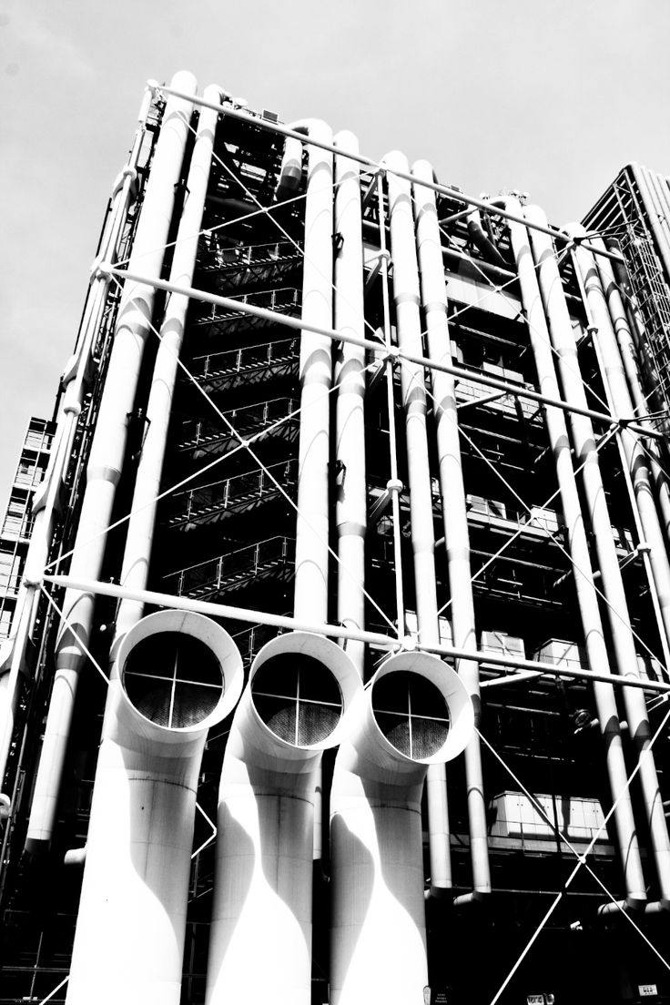 centre pompidou - paris - renzo piano + richard rogers