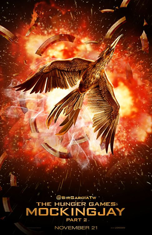 Mockingjay part 2 movie poster   New MOCKINGJAY PART 2 fan poster by @SirGarciaTw