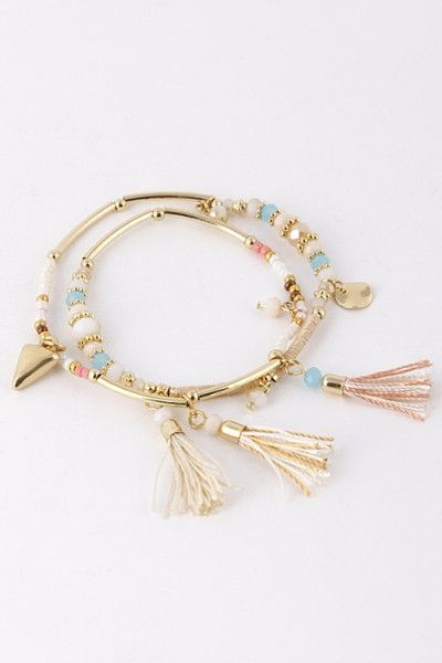 Colorful Tassel Bracelet