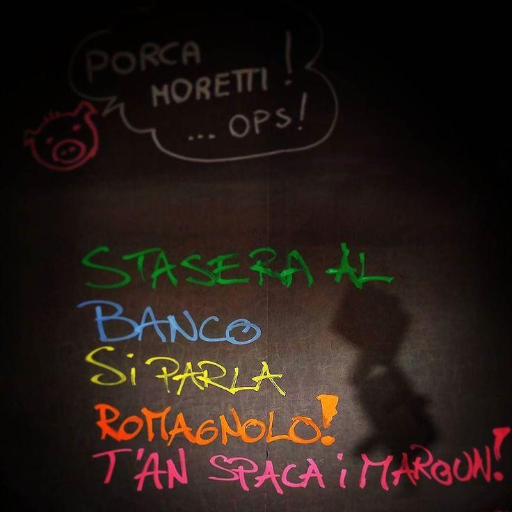 Compagni di #banco in visita dalla #romagna. #asse #sicilia #romagna ristabilita. Sa t'è da boi boi ben! Vi insegniamo anche le #lingue cosa volete di più? #cultura a #360 gradi. #etimue #pub #birreria #birra #birraartigianale #acirealeedintorni #acireale #catania