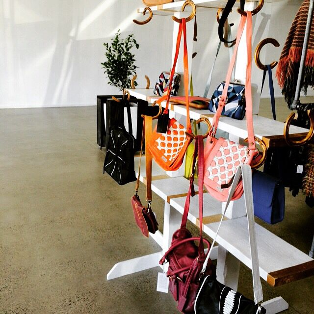Lux equestrian jump display for #saben leather hand bags and clutches.