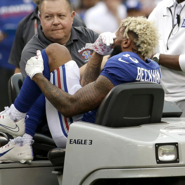 Odell Beckham Jr. to Undergo Season-Ending Surgery on Ankle Injury || The New York Giants announced Monday that star receiver Odell Beckham Jr. will have surgery this week to repair his fractured ankle suffered in Sunday's game against the Los Angeles Chargers ... http://bleacherreport.com/articles/2737736-odell-beckham-jr-to-undergo-potentially-season-ending-surgery-on-ankle-injury?utm_campaign=crowdfire&utm_content=crowdfire&utm_medium=social&utm_source=pinterest