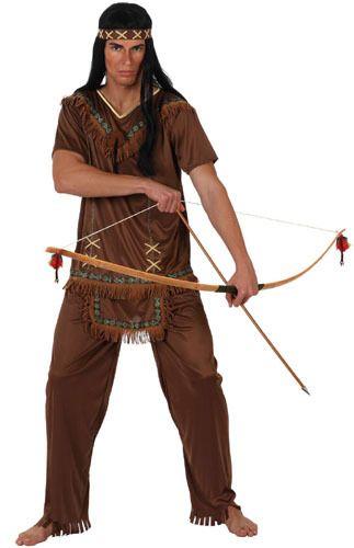 Disfraz de Indio Apache para adulto