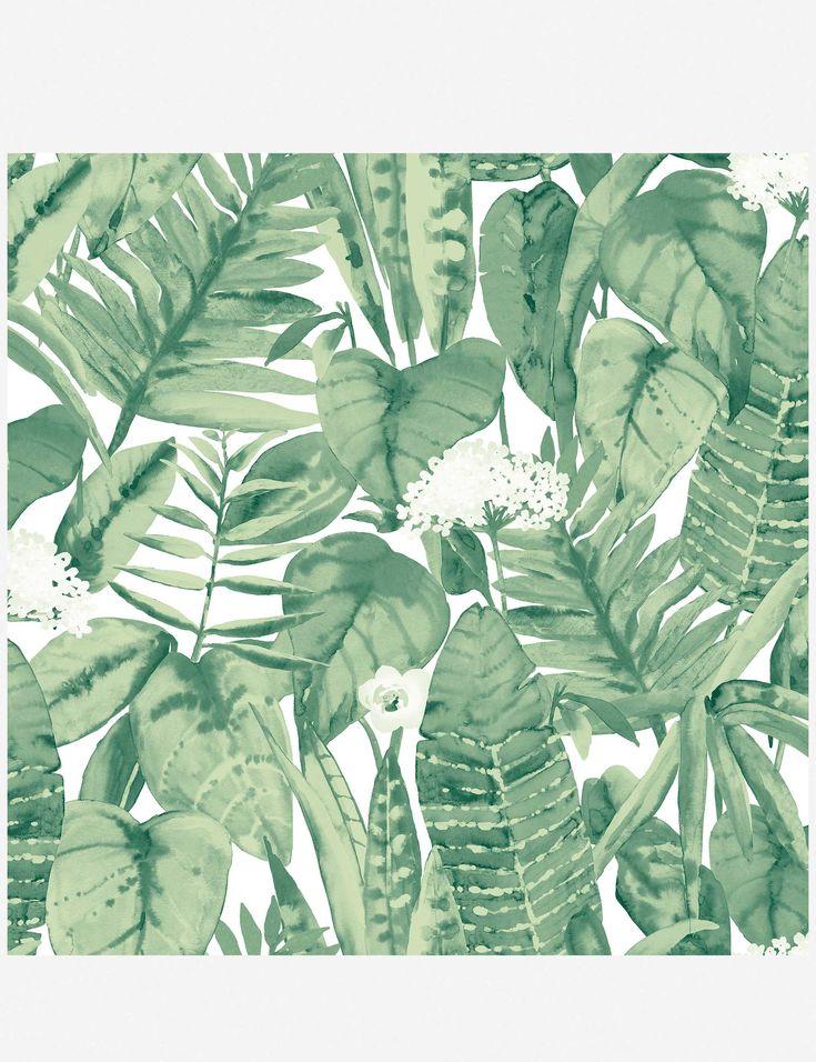 Alfresco Palm Removable Wallpaper in 2020 Jungle
