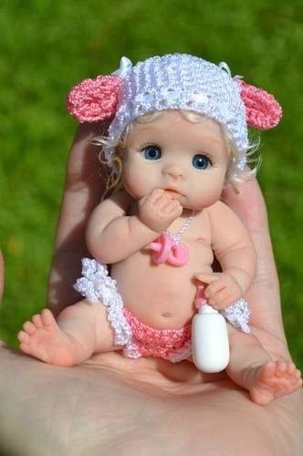Polymer Clay-baby doll