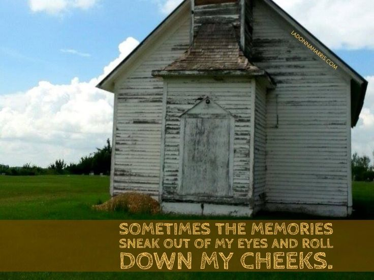 Sometimes Memories Sneak | ladonnaharris.com