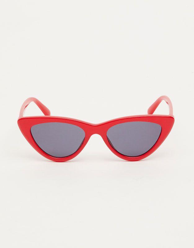Gafas de sol cat-eye - Gafas de sol - Accesorios - Mujer - PULL&BEAR España