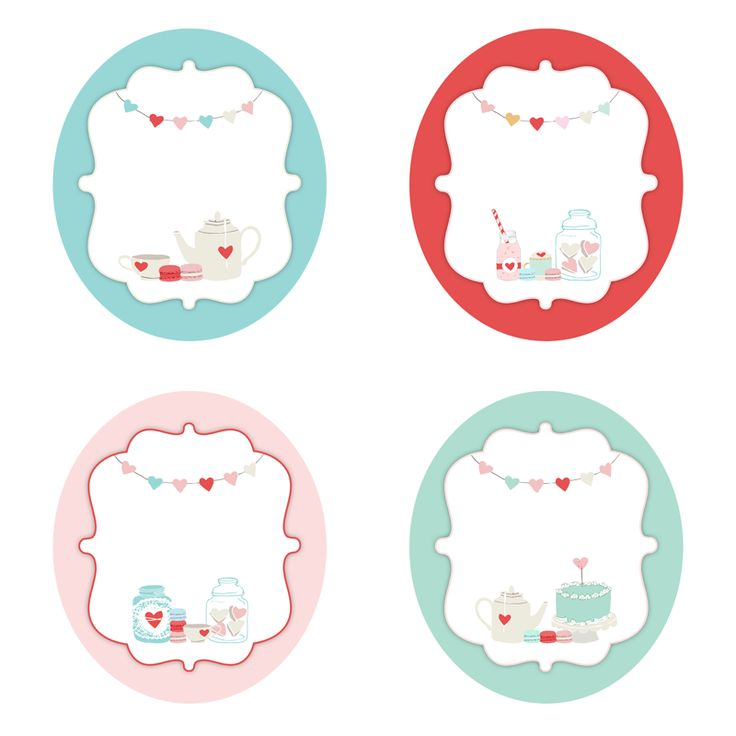4 Adorable Gift tags Free Graphic of the Day - The Cottage Market