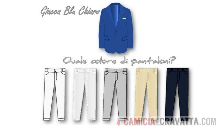 abbinamenti giacca blu chiaro