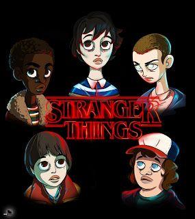 Stranger Things Fanart