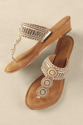 Soft Surroundings Palm Beach Sandals