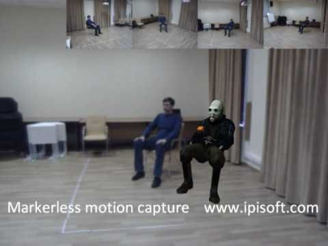 iPi Desktop Motion Capture - Markerless