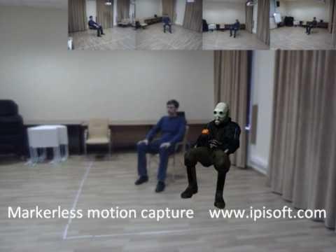 iPi Desktop Motion Capture - Markerless