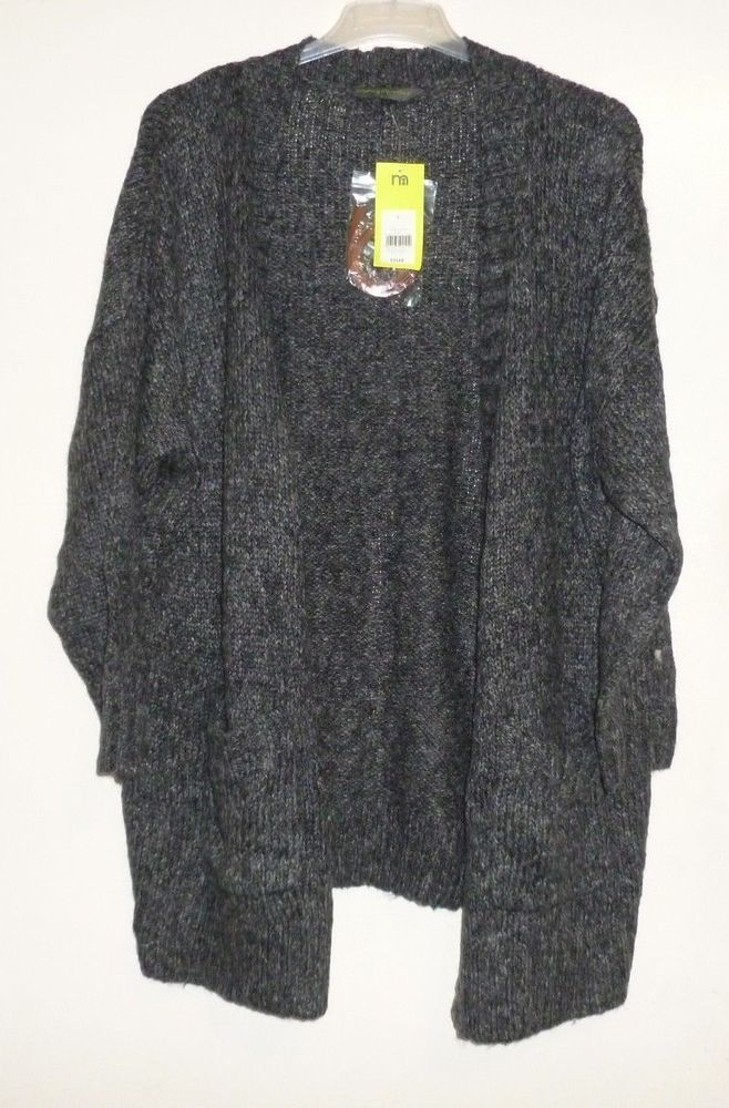 6527309b52835 mothercare grey marl open front cardigan belt SIZE LARGE RRP 35 CR181 HH 06  #fashion #clothing #shoes #accessories #womensclothing #maternity (ebay  link)