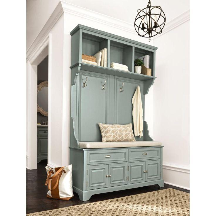 Home Decorators Collection Sadie Antique Blue Double Hall