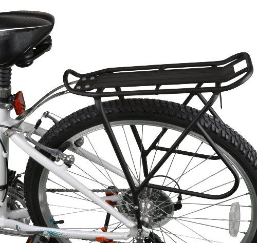 Ibera PakRak Bicycle Touring Carrier Plus+, Frame-Mounted for Heavier Top & Side Loads, Height Adjustable, Fender Board, for 26″-29″… #deals
