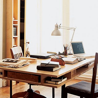 Multi-functional table: Offices Desks, Dining Rooms, Offices Spaces, Work Spaces, The Offices, Dining Spaces, Small Spaces, Dining Tables, Home Offices