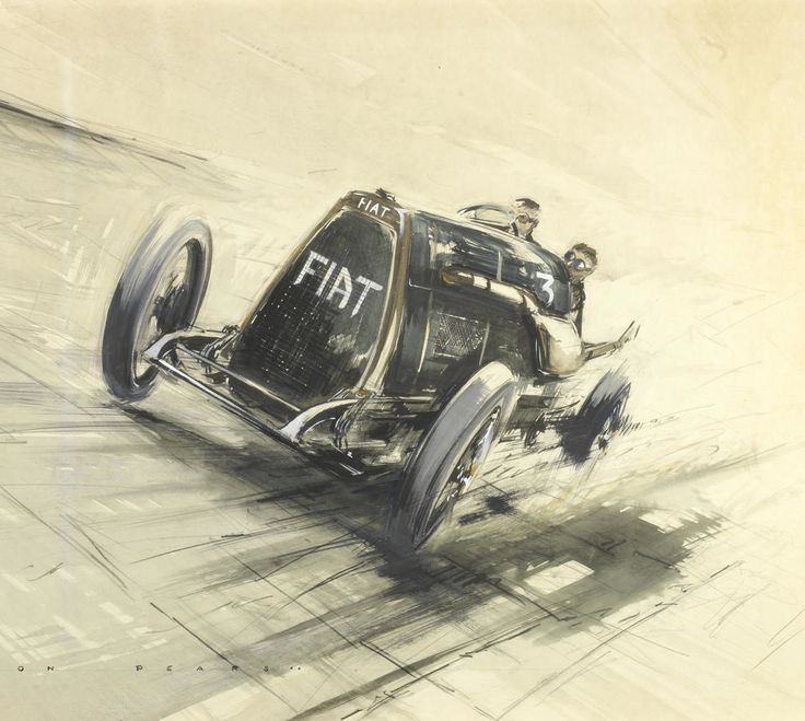 Dion Pears :: 1923 FIAT Mephistopheles