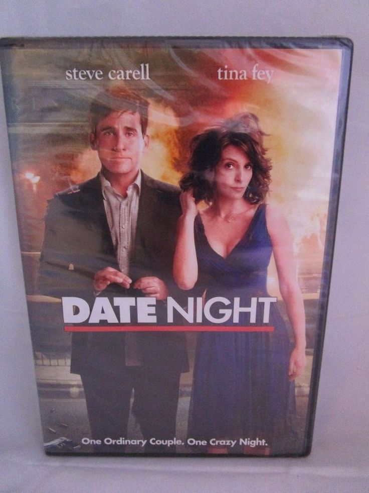 Date Night (DVD, 2010) Steven Carell, Tina Fey Rated PG-13 NEW & Sealed