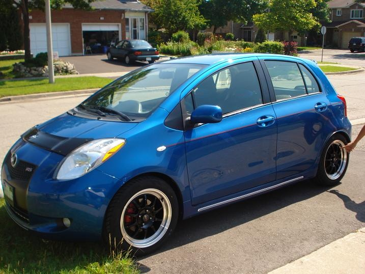 Please post pics of your Yaris with aftermarket rims here - Page 25 - Toyota Yaris Forums - Ultimate Yaris Enthusiast Site