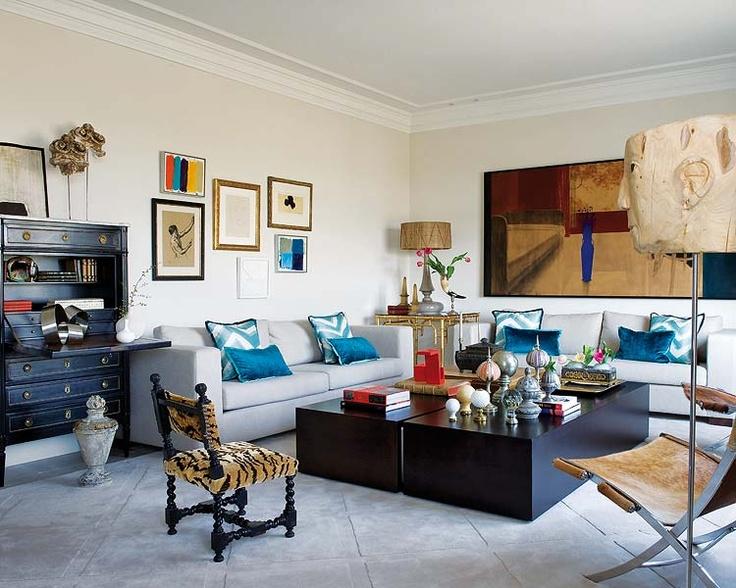 Espacios casas nuevo estilo revista de decoraci n salones cosy living rooms pinterest - Salones nuevo estilo ...
