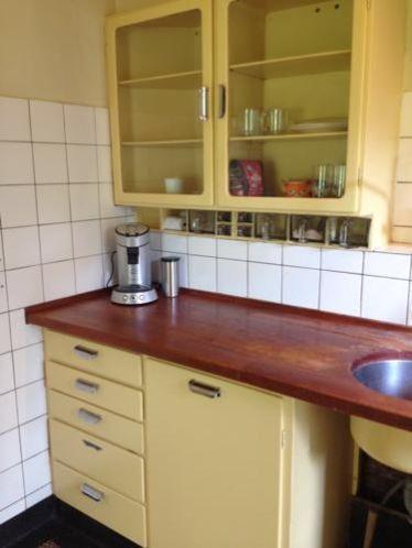 This is my Bruynzeel Kitchen, designed by Piet Zwart, ± 1950.