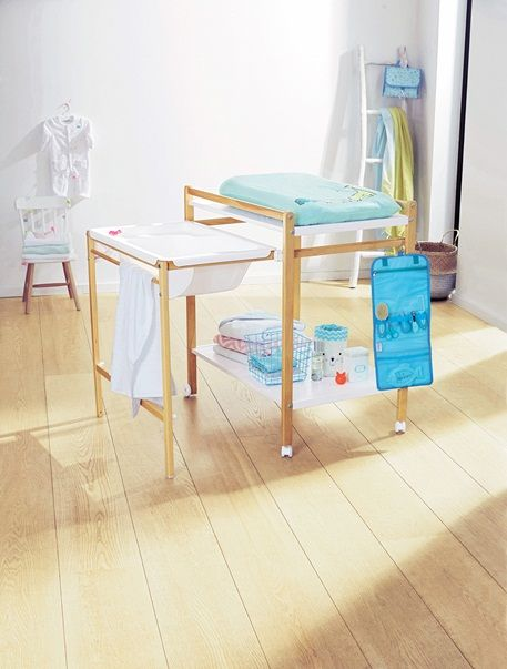 Lit avec table a langer integree - Table a langer sur lit ...