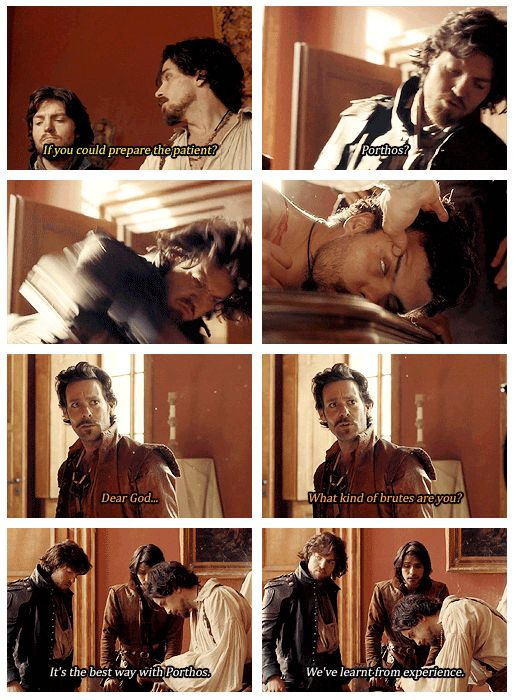 The Musketeers - 1x03 - Commodities, great scene