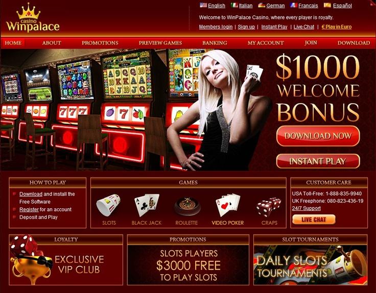 Visit Win Palace Casino