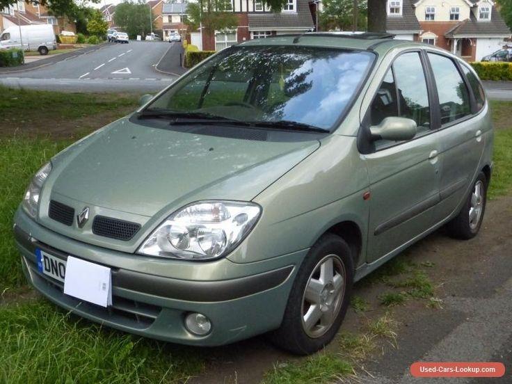 Renault Megane Scenic 16V 2.0L Petrol Manual #renault #scenic #forsale #unitedkingdom
