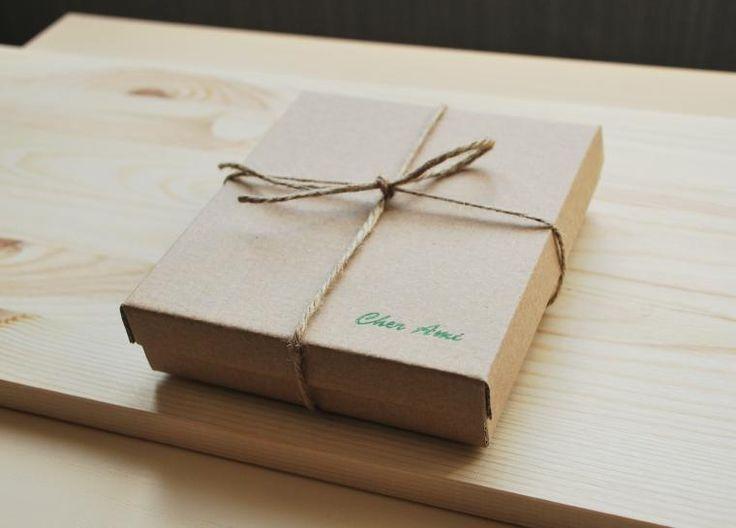 Делаем стильную коробочку из картона - Ярмарка Мастеров - ручная работа, handmade