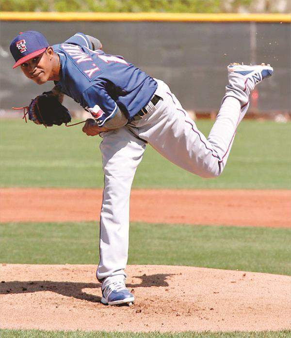 Yohander Mendez Texas Rangers
