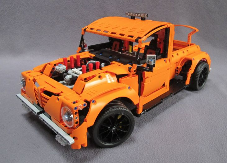 lego technic 42056 b model hot rod lego pinterest lego technic legos and lego vehicles. Black Bedroom Furniture Sets. Home Design Ideas