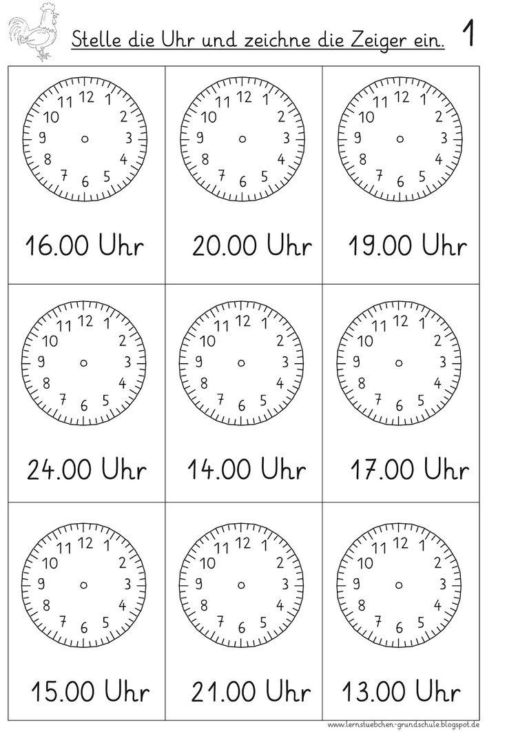 hier wird es jetzt auch schrittweise weitergehen,   denn die Uhr ist für manche einfach ein einziges Rätsel....     euch einen schönen Aben...