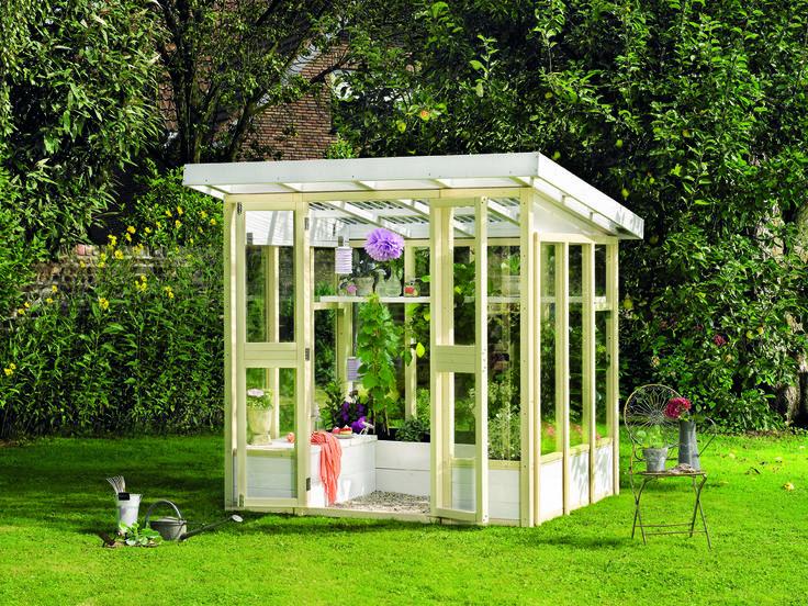 """Gewächshaus """"Orangerie"""" Hier geht's zur Anleitung: http://www.toom-baumarkt.de/selbermachen/kreativwerkstatt/details/gewaechshaus-orangerie-85/ #toom #Baumarkt #toomBaumarkt #toomTeam #Heimwerken #DIY"""