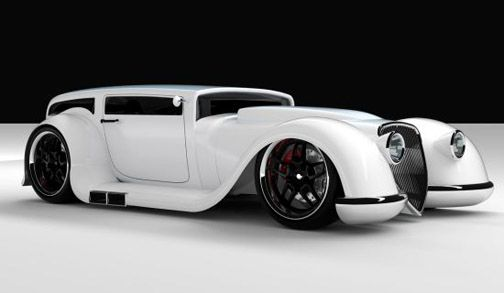 Stylin Rat Rod - 1930s Ford heritage